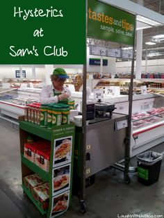 The latest of my #embarrassing moments happened at Sam's Club! #humor ~LaughWithUsBlog