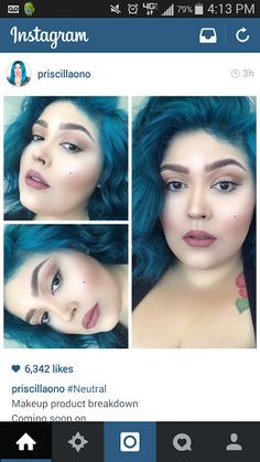 1) Priscilla Ono is my new girl crush.  2) I want this make-up everyday.