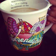 Look mom! Your mug :)  Serendipity mug via @ceciliakos