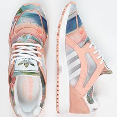 These #delicious #adidas feature in our @wgsnlifestyle #Materials and #Surface #report for our A/W 17 story #DesignMatters. #PowderSoft #floral ##landscape #abstract #suede #mesh #pastel #womenswearwknd by @robertwgsinclair83