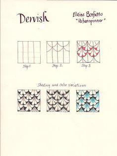#Dervish #zentangle