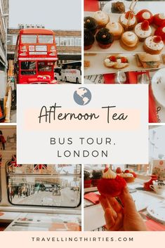 B Bakery's Afternoon Tea Bus is a unique way to tour the heart of London whilst enjoying tasty treats. |B Bakery Bus Tour | Brigit's Bakery Bus Tour | Afternoon Tea | English Afternoon Tea | London Bus Tour | Classic afternoon tea | High Tea | Convent Garden Bakery | London England | Things to do in London