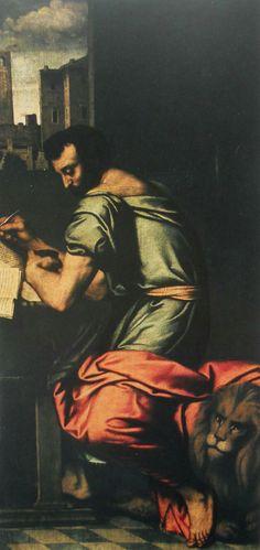 Evangelista  Marco. 1521-1524. Chiesa di San Giovanni Evangelista a Brescia