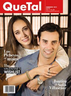 En portada Bego del Valle y Fernando López