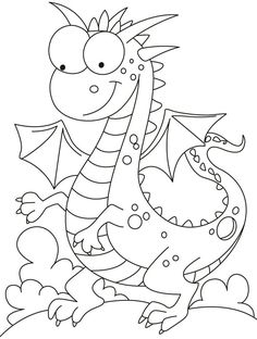 Comparatively a kind looking dragon coloring pages Make your world more colorful with free printable coloring pages from italks. Our free coloring pages for adults and kids. Coloring Book Pages, Coloring Sheets, Lilo E Stitch, Dragon Coloring Page, Digi Stamps, Dragons, Printable Coloring, Coloring Pages For Kids, Art Pages