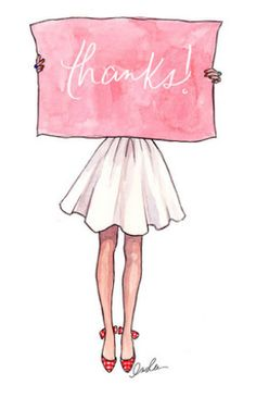 A pink thank you to all who follow me. You are appreciated!  TG
