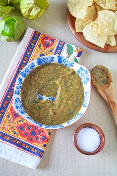 5 star. I made it with roasted tomatoe and tomatillo. It's not spicy enough. Was spicy enough with a habanero instead of fresno. Roasted Tomatillo Salsa Verde - TheNoshery.com