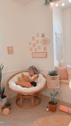 Cute Bedroom Decor, Room Design Bedroom, Room Ideas Bedroom, Bedroom Inspo, Cute Room Ideas, Cozy Room, Aesthetic Bedroom, Girl Room, Bedrooms