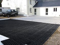 Driveway Paving, Driveway Design, Patio Design, Driveway Ideas, Paving Ideas, French Drain, Construction Process, Outdoor Projects, The Great Outdoors