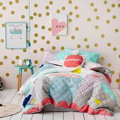 Adairs Kids Ellie Bedlinen - Bedroom Quilt Covers & Coverlets - Adairs Kids online