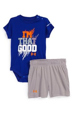"""Under Armour 'I'm That Good' T-Shirt & Shorts (Baby Boys) available at <a class=""""pintag"""" href=""""/explore/Nordstrom"""" title=""""#Nordstrom explore Pinterest"""">#Nordstrom</a>"""