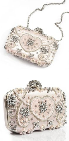 1686df80ae02c Rhinestones Clutch Diamonds Beaded Metal Evening Bags | Lovely Fashion  Clutches | Pinterest | Evening bags, Bags and Foldover clutch
