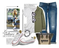 """Style Icon - Converse"" by hattie4palmerstone ❤ liked on Polyvore featuring By Zoé, Converse, Rebecca Minkoff, Abercrombie & Fitch, Equipment, CÉLINE and Illesteva"