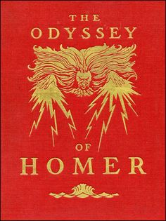 The Odyssey of Homer with illustrations by N. C. Wyeth, 1929.