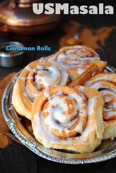 US Masala: Cinnamon Rolls/Buns!