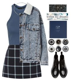 """""""A photo a day"""" by mysecretismine ❤ liked on Polyvore featuring Dr. Martens, Oasis, Topshop, DANNIJO, Ella Doran and Barclay Butera"""