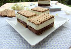 Una pincelada en la cocina: sándwiches de mousse de chocolate y nata Gelato, Sweet Tooth, Recipies, Cheesecake, Favorite Recipes, Cooking, Healthy, Desserts, Food
