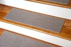 Carpet Stair Treads 23″ x 8″ – Beige – Set includes 13 carpet stair treads PLUS one roll of double-sided carpet tape for easy, do-it-yourself installation.  Made in the USA http://suliaszone.com/carpet-stair-treads-23-x-8-beige-set-of-13/