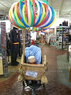 Cutest Hot Air Balloon Baby Costume... Coolest Homemade Costumes