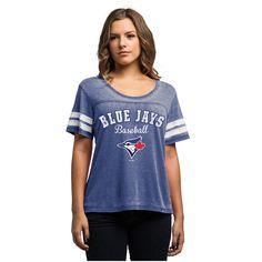 MLB Toronto Blue Jays Majestic Women's Loving the Game T-Shirt - Royal