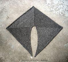 Ravelry: chalklegs' on off shawl