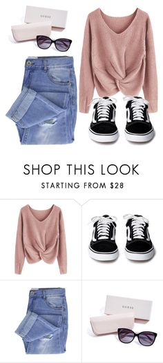 """""""Untitled #163"""" by rafaela-morgado on Polyvore featuring Taya and GUESS"""