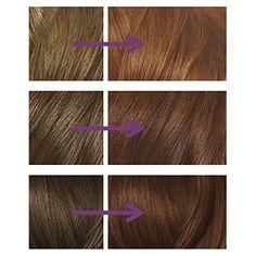 Image result for Nice'n Easy Colour Enhancer Hair Dye Light Golden Brown 76 Golden Red, Light Golden Brown, Easy Light, Hair Dye, Bobby Pins, Hair Accessories, Colour, Nice, Image