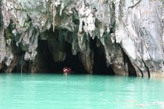 a natural haven to various animal species - Puerto Princesa Underground River in Palawan, Philippines Palawan, Tourist Spots, Vacation Spots, Puerto Princesa Subterranean River, Places To Travel, Places To See, Travel Destinations, Philippine Tours, 7 Natural Wonders