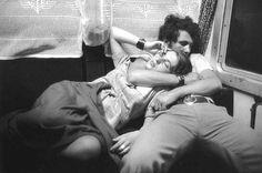 Train, Romania, 1975  Photo by Henri Cartier-Bresson