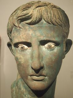 Suetonius tells us that Octavian Augustus had quick and beautiful eyes, and he liked to stare down his opponents in the Senate, waiting for them to turn their eyes down, as if blinded by the sun, implying that there was something divine in his look, which was very much in agreement with the Roman idea of natural authority.
