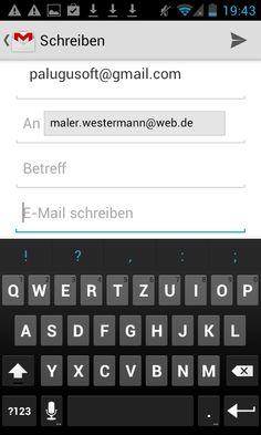 Apmato-made-app des Malerfachbetriebs Westermann & Co. KG in Mühlen, Westfalen, Norddeutschland ❧ email android.