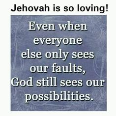 Jehovah Is So Loving! Even if we are imperfect Jehovah knows our hearts. Bible Quotes, Bible Verses, Prayer Verses, Sign Quotes, Faith Quotes, Thing 1, Bible Truth, Jehovah's Witnesses, Heavenly Father