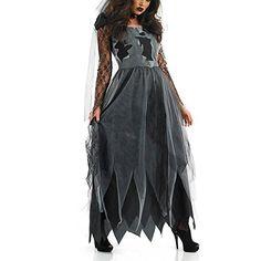 Women Halloween Costume Vampire Ghost Bride Zombie Witch Princess Fancy Dress DORA'S SECRET http://www.amazon.com/dp/B015K8TJ4O/ref=cm_sw_r_pi_dp_AEZQwb1C769PY 20 each
