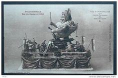 34 Montpellier Carnaval Polichinelle Maquette    D34D  K34172K  C34172C RH029117 - Montpellier