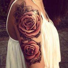 29 Best Rose Arm Tattoo Images Rose Tattoos Pink Tattoos Rose