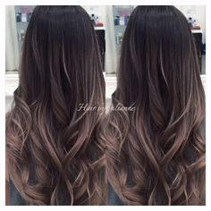 Hair By Julianne Cho - Los Angeles, CA, United States. Ash grey Balayage Ombre with Olaplex