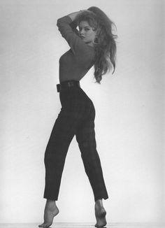 THAT POSE just slays me.   Brigitte Bardot, 1950's