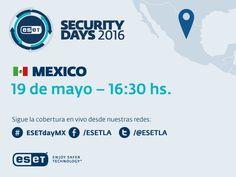 Llega la sexta edición del ESET Security Days México - https://webadictos.com/2016/05/14/llega-la-sexta-edicion-del-eset-security-days-mexico/?utm_source=PN&utm_medium=Pinterest&utm_campaign=PN%2Bposts