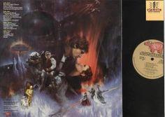 "Back Album Cover Star Wars ""Empire Strikes Back"" RSO Records RS-2-4201"