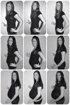 Monthly pregnancy pictures.