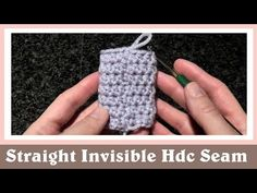 Crochet Hack: Invisible Seam – Crafty House