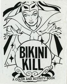 Bikini Kill no. 1, Kathleen Hanna, Tobi Vail, and Kathi Wilcox, 1990. The Kathleen Hanna Papers.