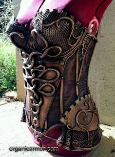 Steampunk corset I would rock this