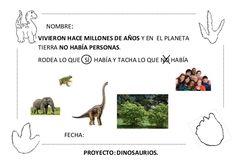 Proyecto completo dinosaurios. programación, fichas, recursos,pdf Animals, Dinosaurs, Activities, Science Classroom, Social Science, School, Infant Learning Activities, Dinosaurs Preschool, Animales