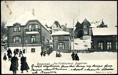 Buskerud fylke DRAMMEN. Fra Villakvarteret, Bragernæs  Utg H.L. & Co  postgått 1908