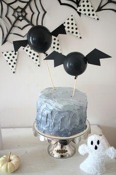 Halloween Bat Cake T