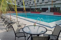 Jump In and enjoy the fun of swimming all year round with our temperature controlled pool at #AvariLahore.