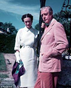Duke of Windsor and Wallis in 1951