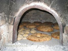 stone oven for bread baking