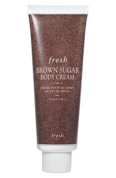 Fresh® Brown Sugar Body Cream my fav makes me so hungry when I put it on